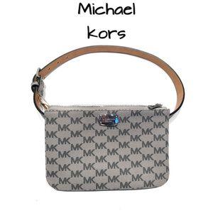 Michael Kors signature mini waist bag belt purse